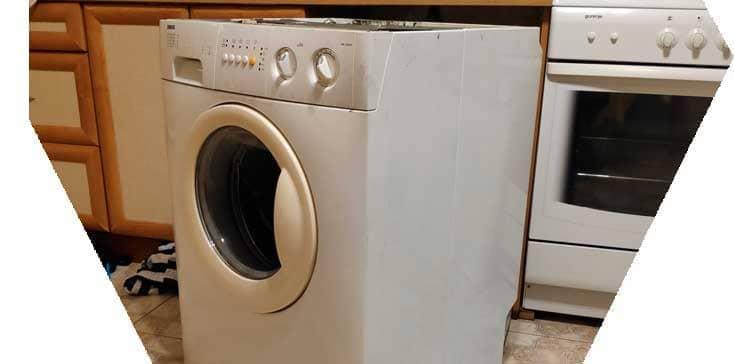 Не знаете куда деть старую стиральную машину? Звоните нам и мы вывезем вашу бу стиралку за деньги